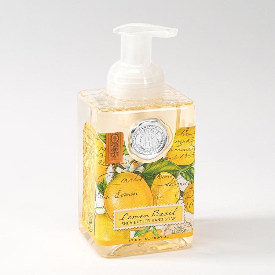 Michel Designs Soap Lemon Basil